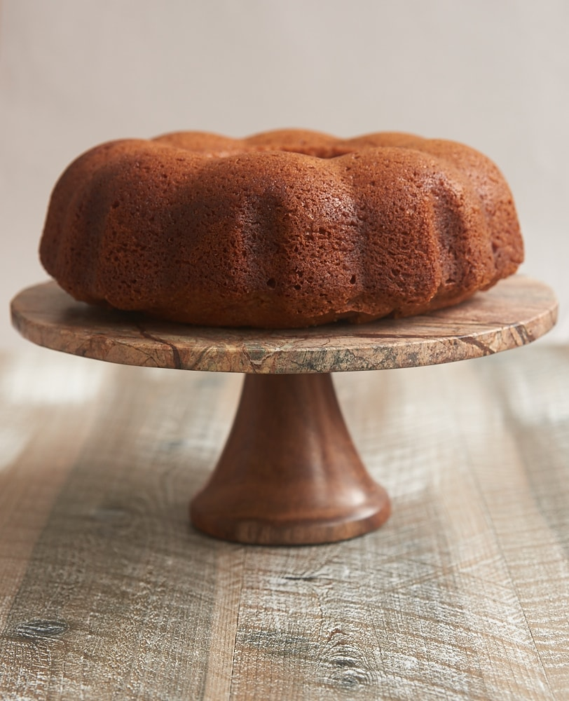 Dress up a cake mix in a big way with this Amaretto Cake! - Bake or Break