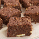 Chewy Graham Brownies