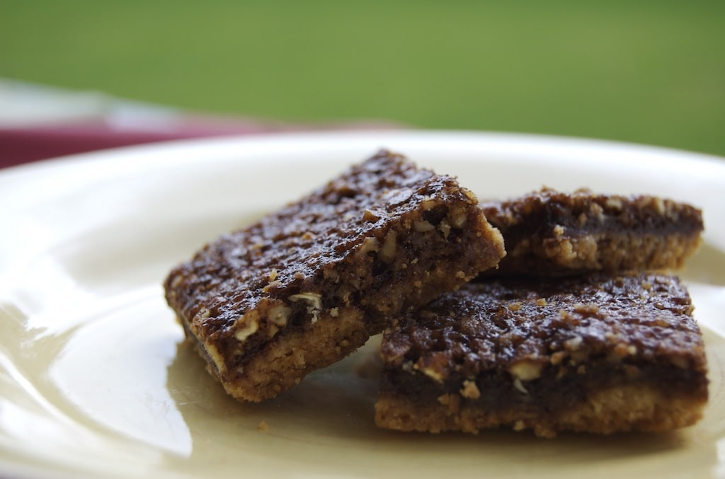 Chocolate Pecan Pie Bars | Bake or Break