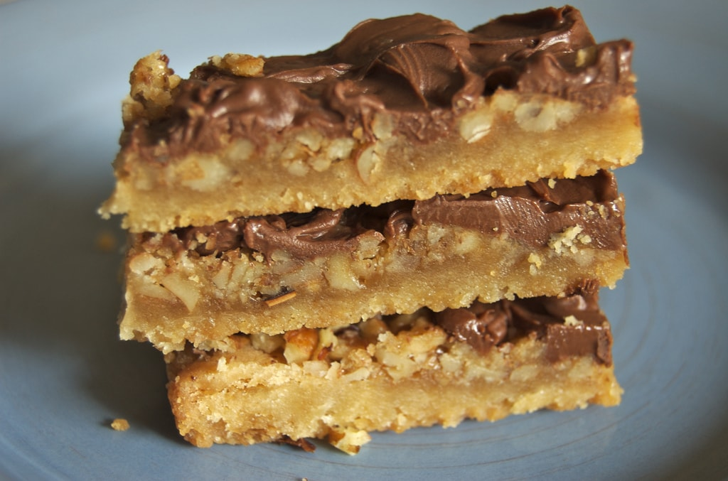 ... to make these sweet, rich, delicious Butter Pecan Turtle Bars