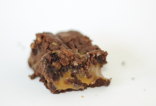Chocolate Caramel Brownies | Bake or Break
