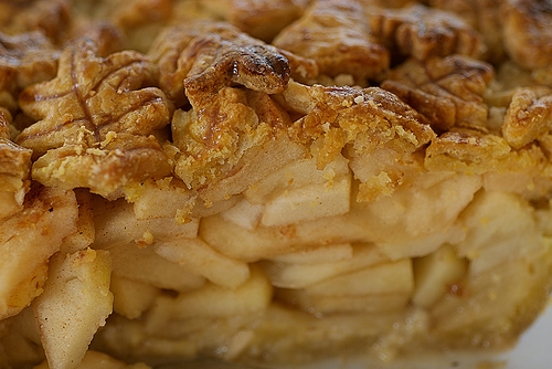 Apple Pie is a classic dessert for good reason. All those spiced apples packed inside a homemade pie crust are irresistible!