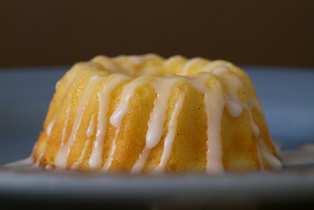 These Baby Pound Cakes are sweet, buttery, mini cakes topped with a sweet vanilla glaze.