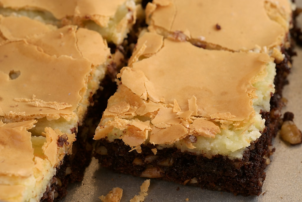 Chocolate Chess Squares | Bake or Break