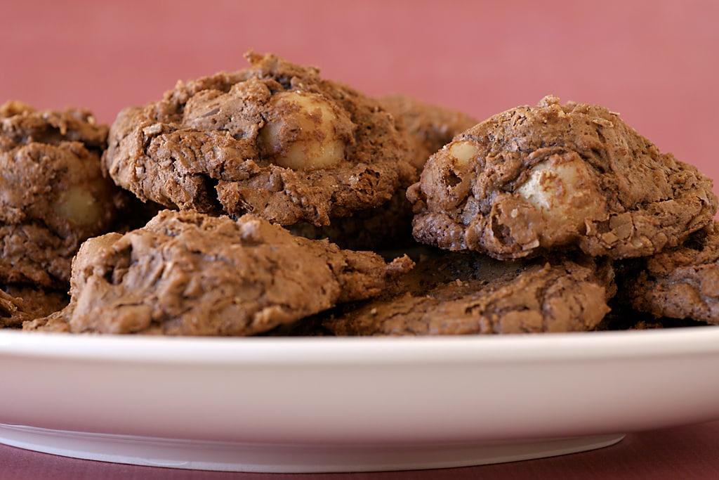 Chocolate Macadamia Nut Clusters | Bake or Break