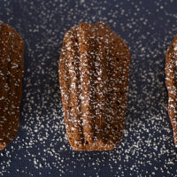 Dark Chocolate Madeleines | Bake or Break