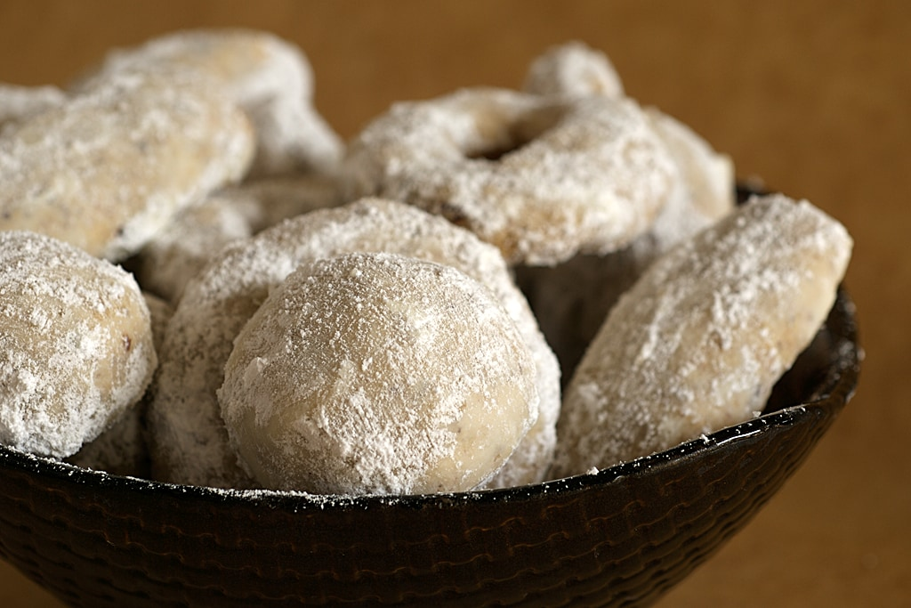 Hazelnut Crescent Cookies are a simple and delightful cookie with a subtle sweetness and nuttiness.