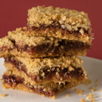Oatmeal Raspberry Bars | Bake or Break