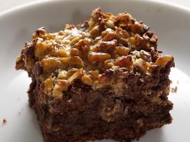 Caramel Coconut Pecan Brownies