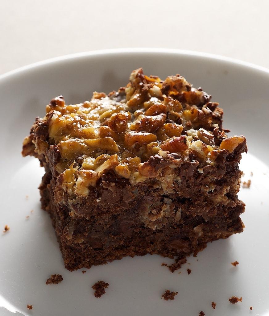 Caramel Coconut Pecan Brownies | Bake or Break