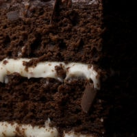 Chocolate Layer Cake with Cream Cheese Frostings | Bake or Break