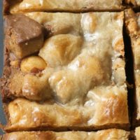 Peanut Butter Candy Bar Squares | Bake or Break