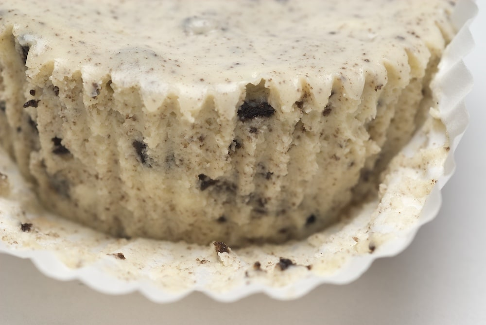 Cookies and Cream Cheesecakes are cool, creamy cheesecakes with an Oreo for the crust. Delicious! - Bake or Break
