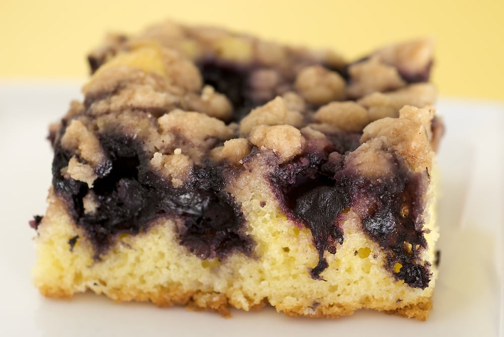 Blueberry Crumb Cake - Bake or Break