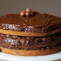 Double Nut Drenched Chocolate Cake | Bake or Break