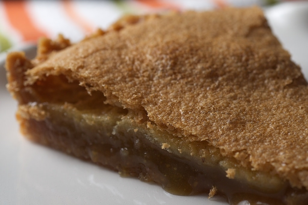 Chewy Chess Tart is a simple, delicious pie that is always a crowd pleaser. Love that vanilla wafer crust!