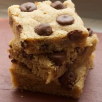 Peanut Butter Cup Blondies | Bake or Break