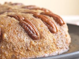 Pecan Upside-Down Cake
