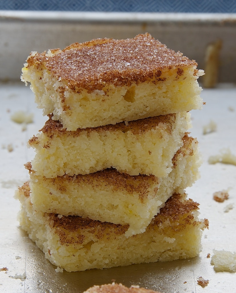 Cinnamon Sugar Cookie Squares are soft, chewy, sweet, cinnamon-y, and ...