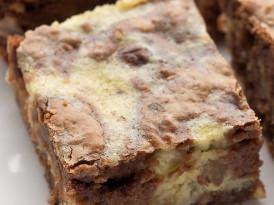Hazelnut Cream Cheese Brownies