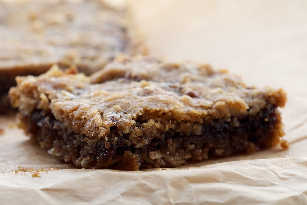 Blueberry Jam Bars combine your favorite jam with a buttery, nutty, oat crust.