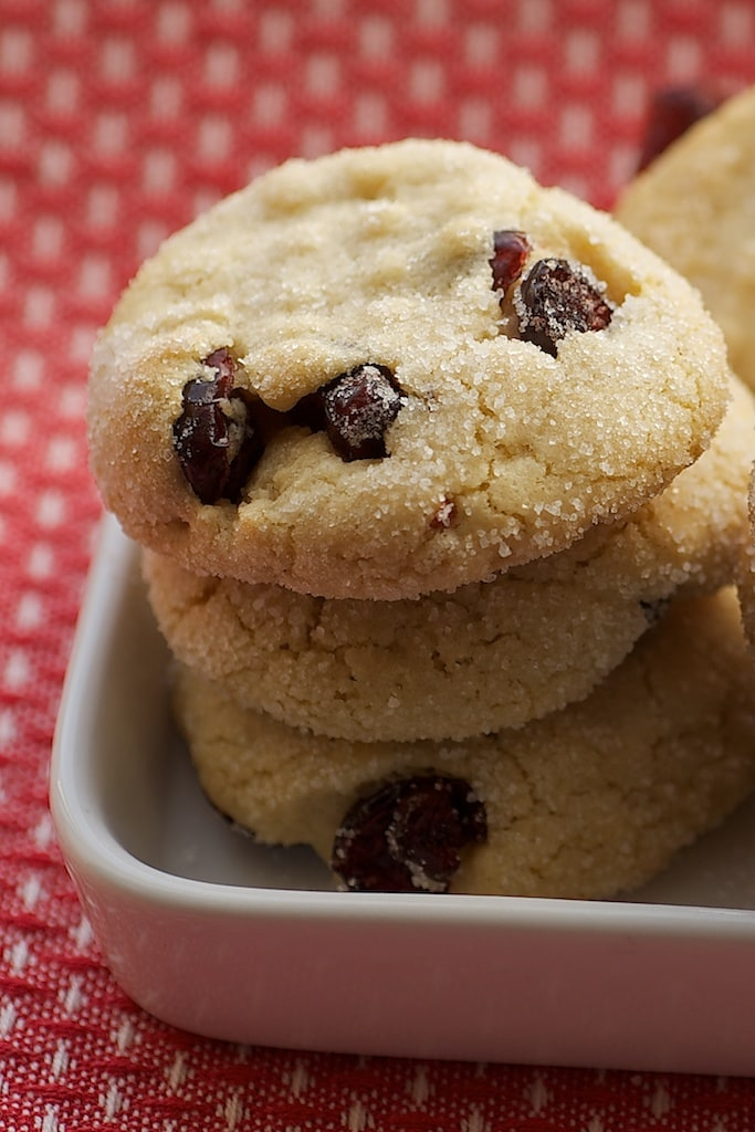 Macadamia Butter Cookies with Dried Cranberries | Bake or Break