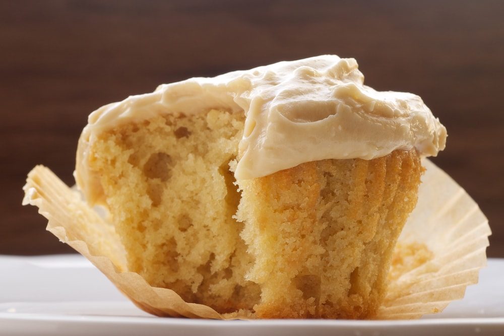 Brown Sugar Pound Cakes with Brown Sugar Cream Cheese Frosting are sweet little pound cakes with plenty of brown sugar!