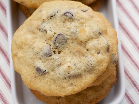 Chocolate Macadamia Peanut Butter Chip Cookies