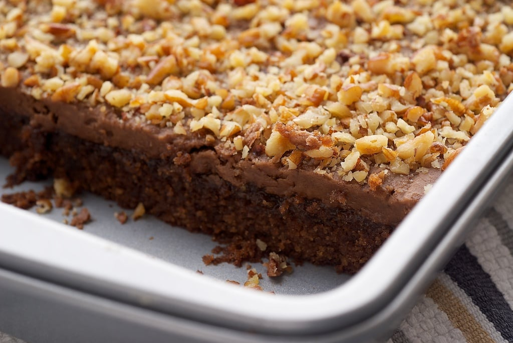 Coca-Cola Cake is a wonderfully sweet, rich, nutty cake. Great for feeding a crowd!