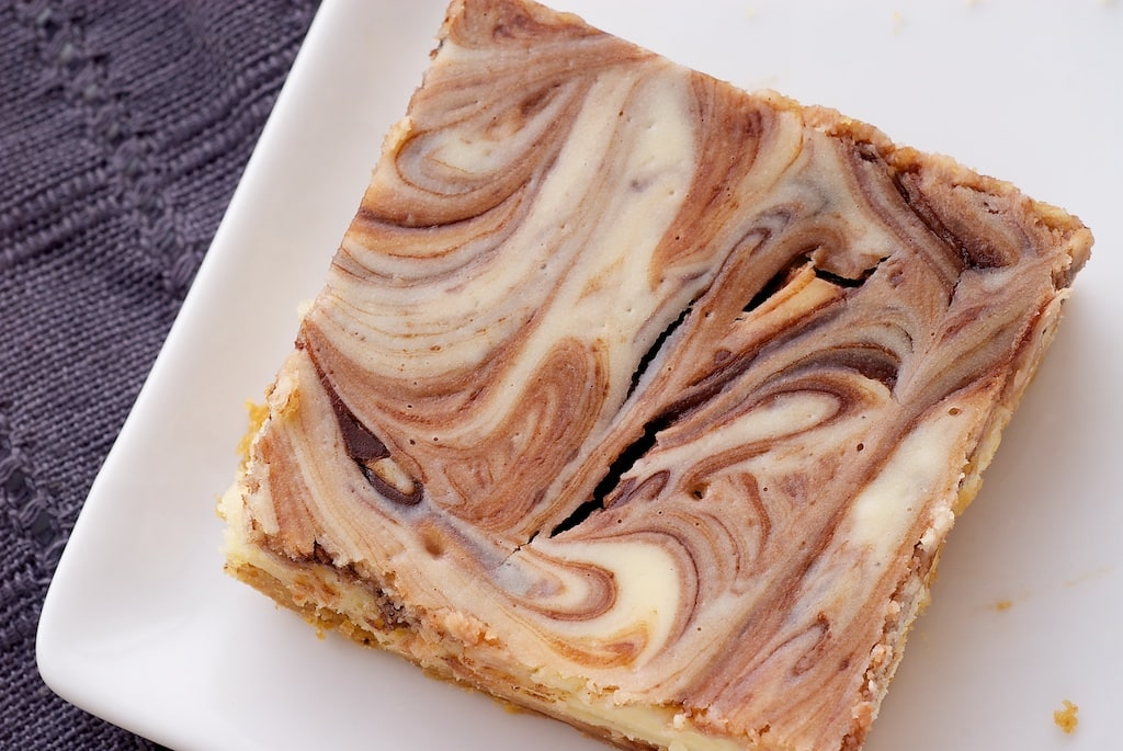 Nutella Swirl Cheesecake Bars | Bake or Break