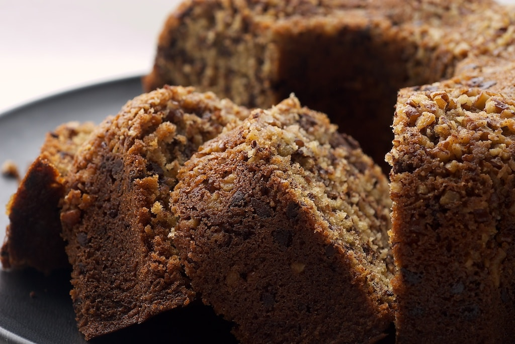 Chocolate Chip Bundt Cake is a delicious combination of brown sugar, chocolate, and nuts. This one is always a winner!