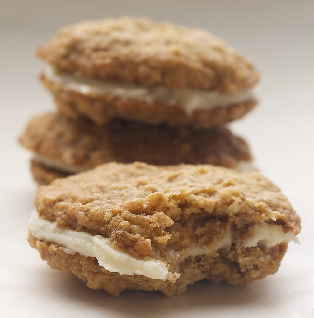 ... favorite with a batch of homemade Oatmeal Cream Pies! - Bake or Break