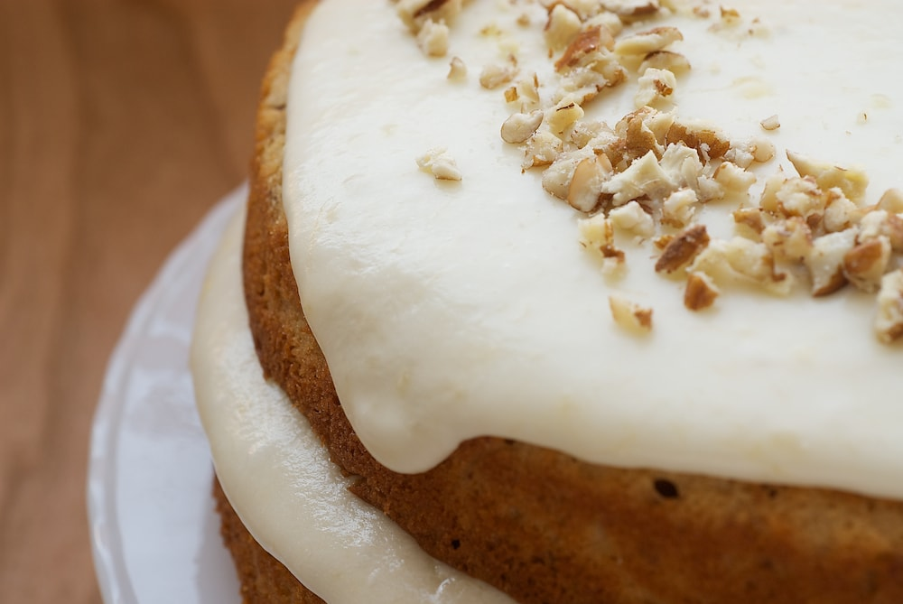 Pecan Layer Cake with Banana Icing | Bake or Break