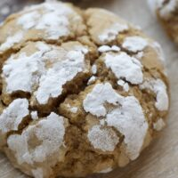 Brown Sugar Crinkles are simple cookies with big flavor. Perfect for sharing! - Bake or Break