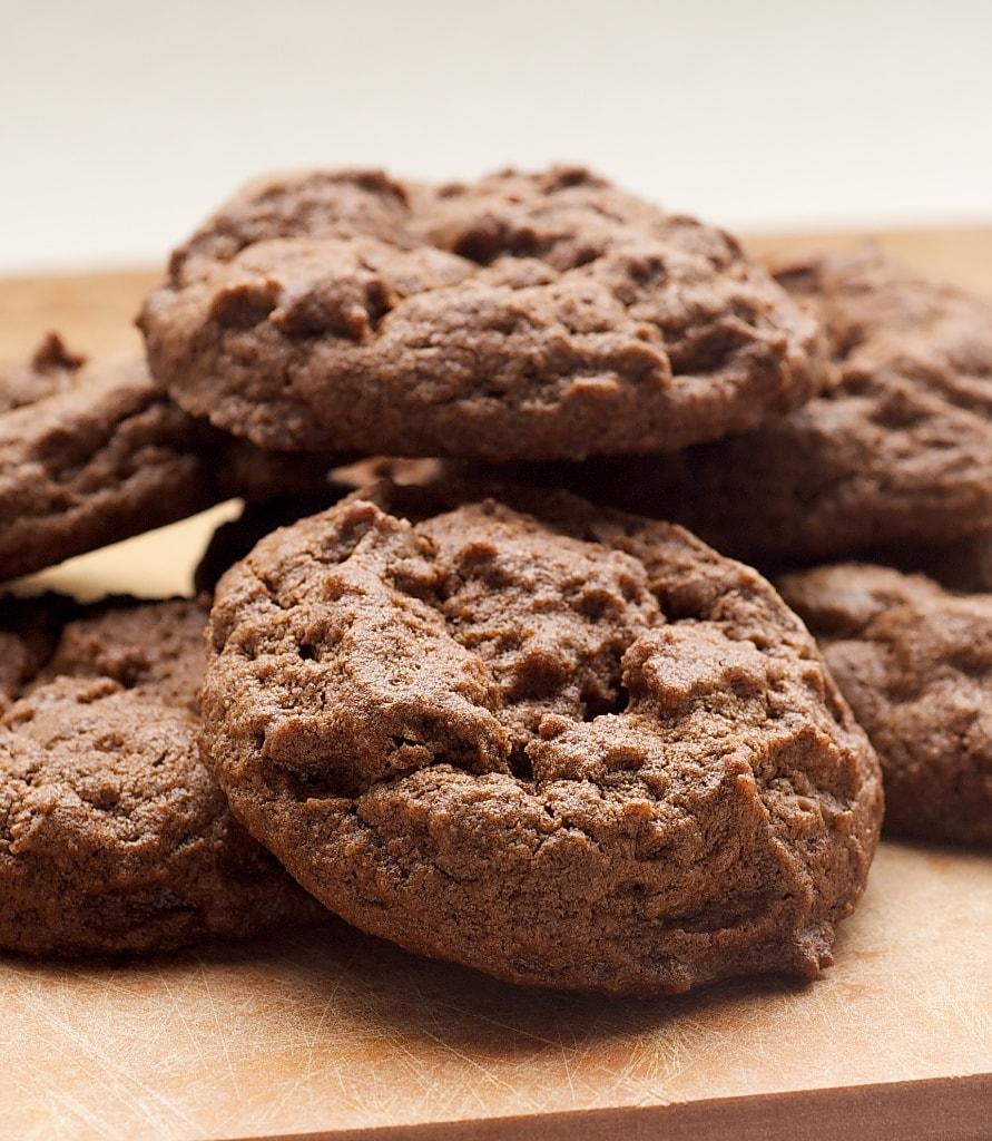 Chocolate Peanut Butter Cookies combine rich chocolate cookies with peanut butter cups for an irresistible treat. - Bake or Break