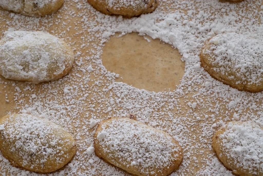 Sand Tarts are simple, delicious cookies made with just a handful of ingredients. - Bake or Break