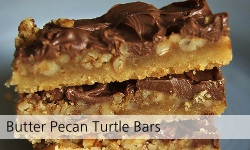 Butter Pecan Turtle Bars