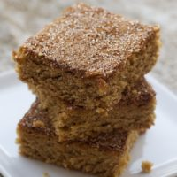 Snickerdoodle Bars | Bake or Break
