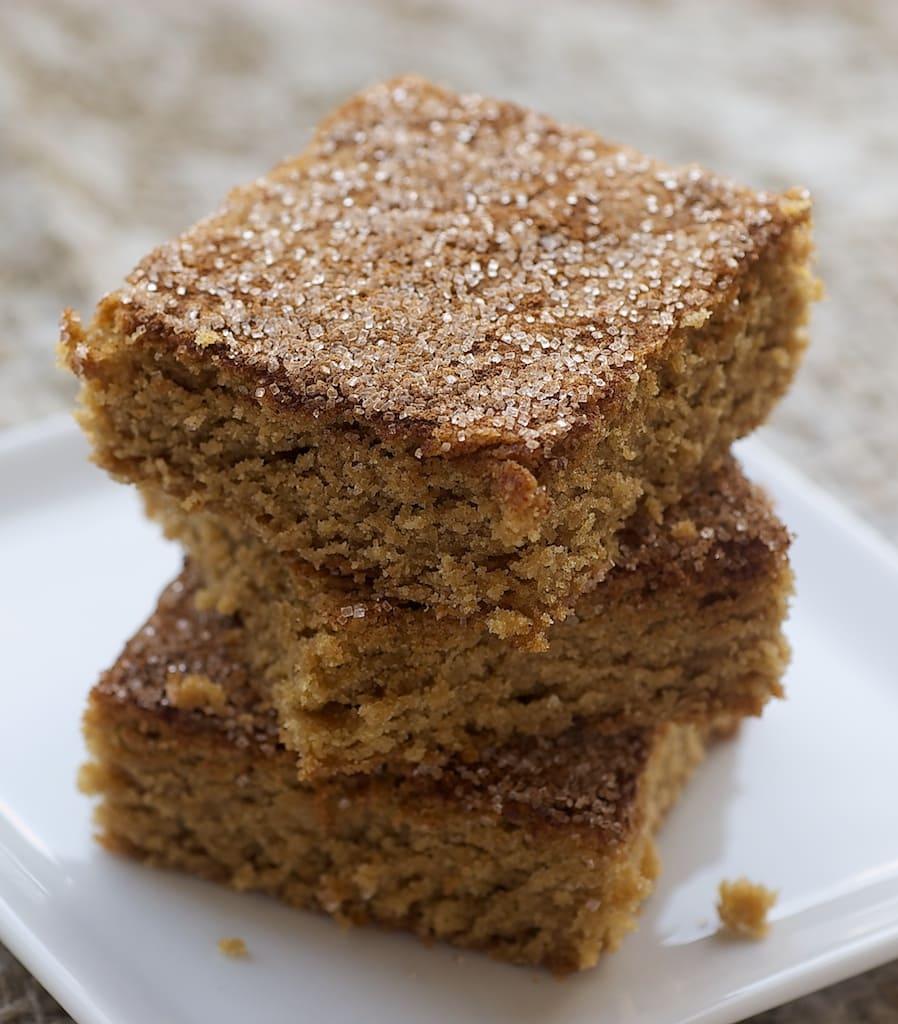 Snickerdoodle Bars | Bake or Break