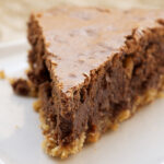 Hazelnut Brownie Tart