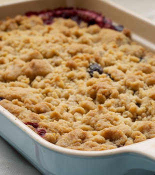 Mixed Berry Cobbler is a delicious celebration of fresh berries with a sweet vanilla cobbler topping. A summertime dessert must! - Bake or Break