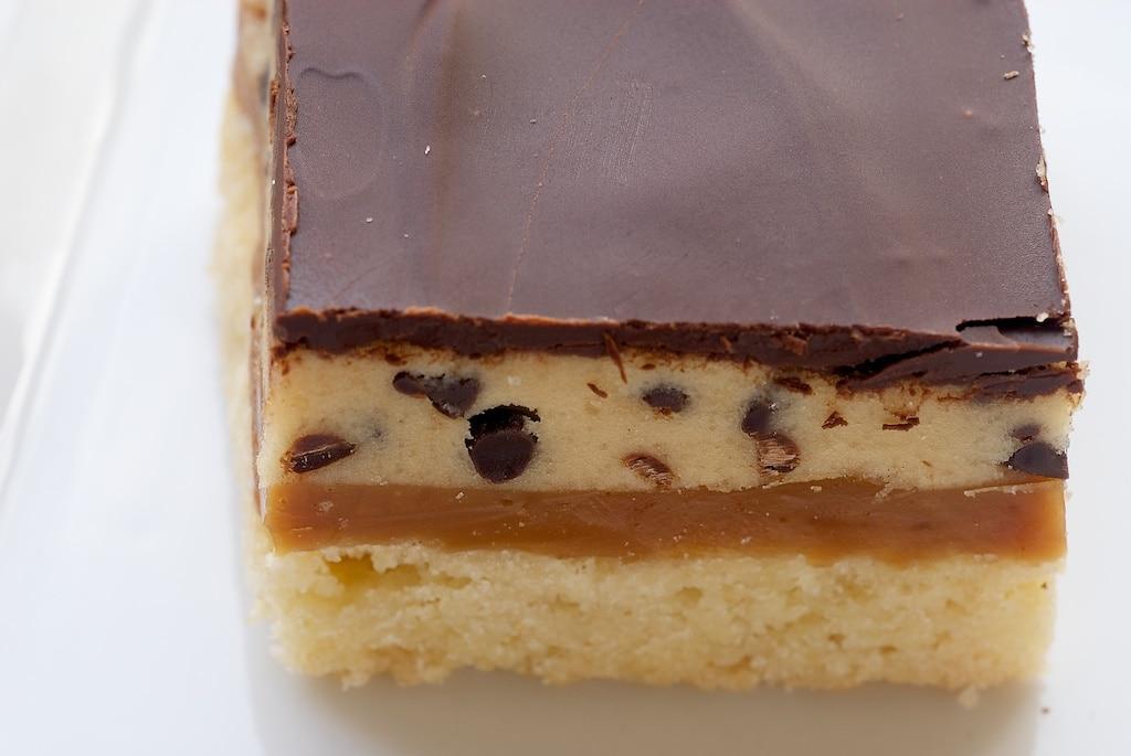 Cookie Dough Billionaire Bars | Bake or Break