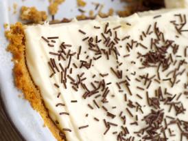 Chocolate Cookie Dough No-Bake Cheesecake