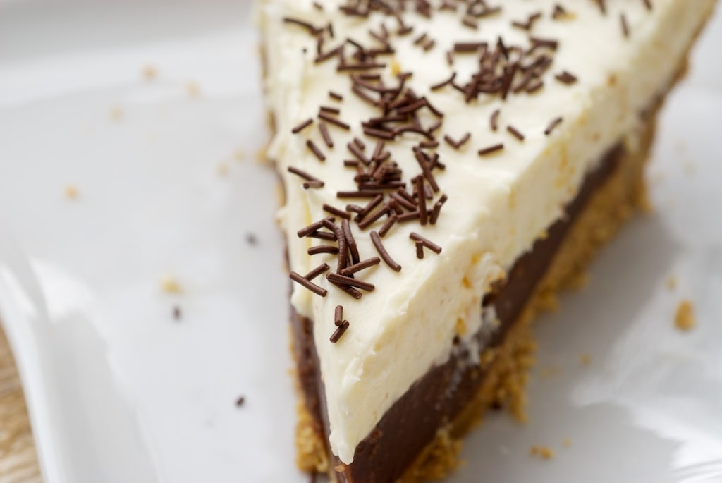 Chocolate Cookie Dough No-Bake Cheesecake combines rich chocolate ...