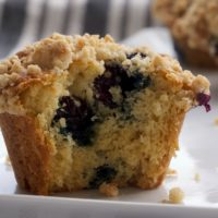 Blueberry Crumb Muffins | Bake or Break