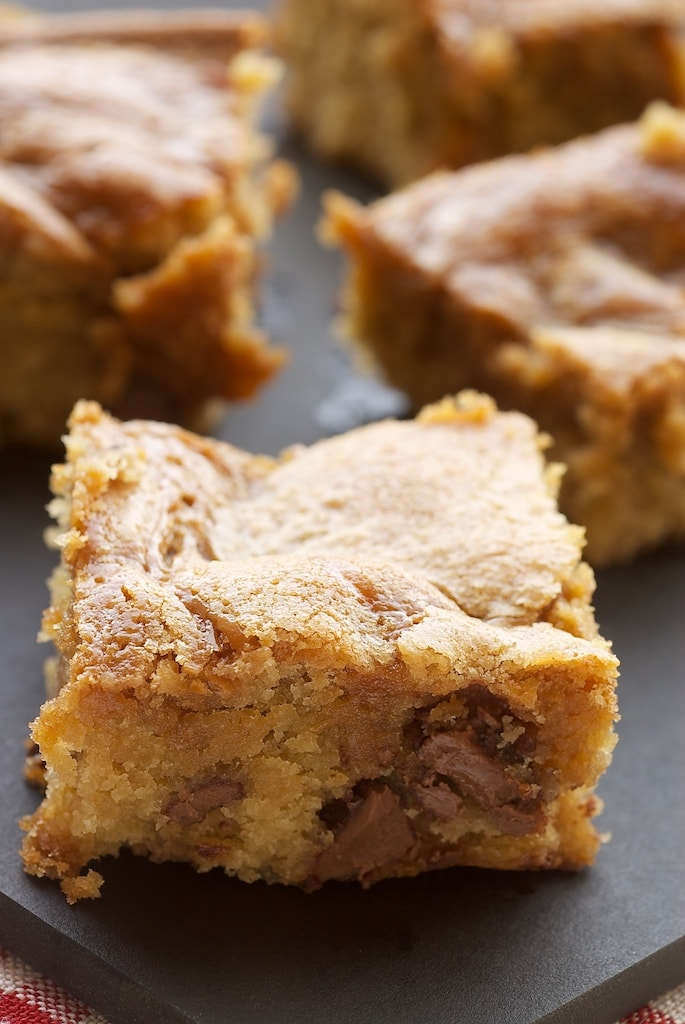 Chocolate-Caramel Cookie Bars Recipe — Dishmaps