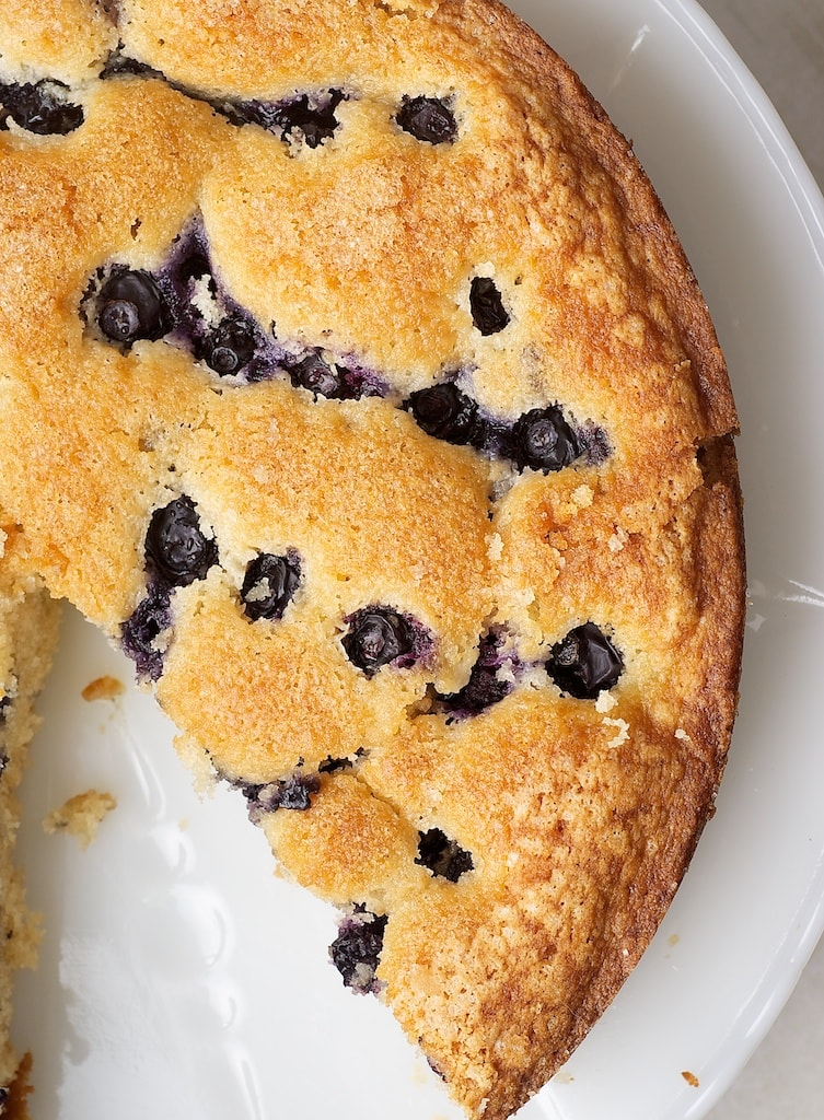 Turn fresh blueberries into this tasty Simple Blueberry Cake. - Bake or Break