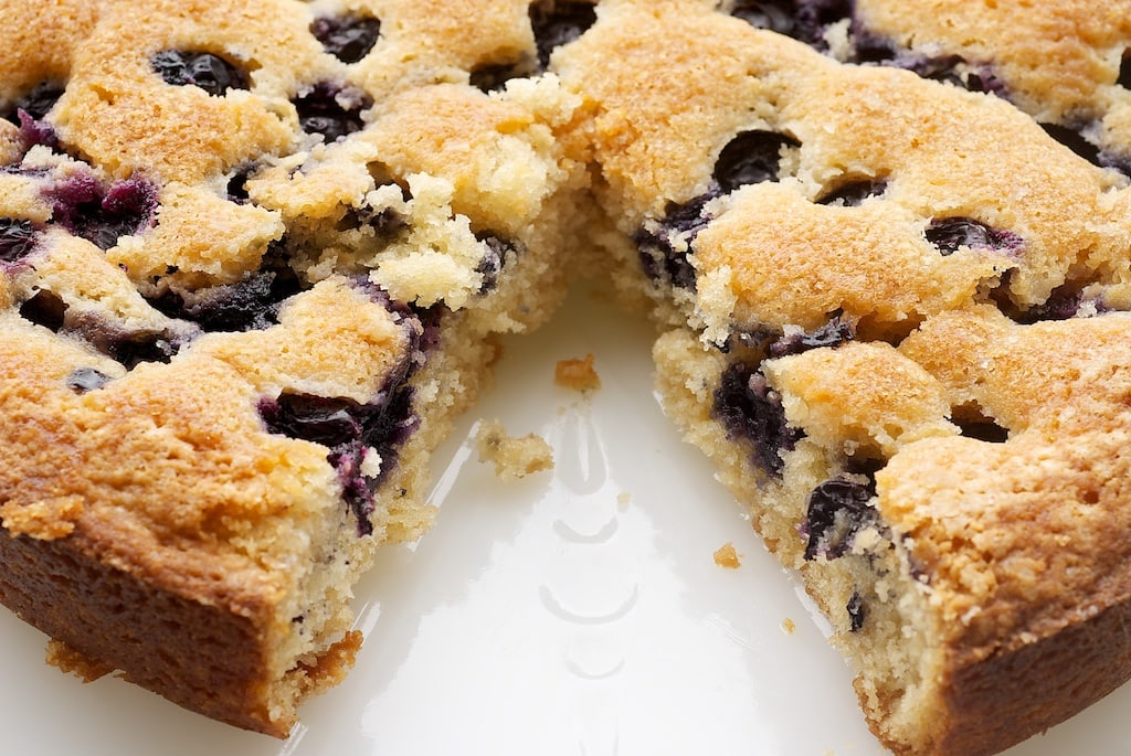 Simple Blueberry Cake | Bake or Break