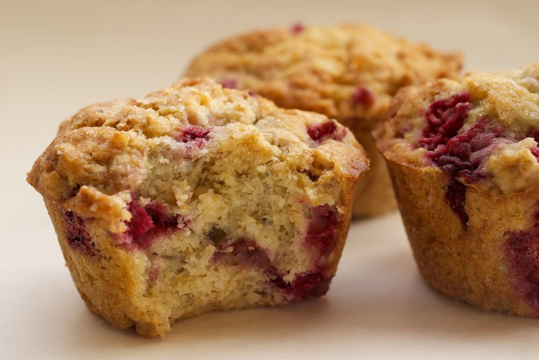 Raspberry Oat Muffins - Bake or Break
