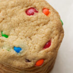 Big Chewy M&M Cookies